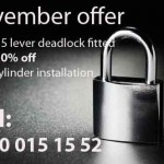 locksmith bishops stortford november offer